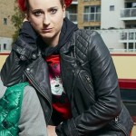 Tv Series Zomboat Kat Black Motorcycle Leather Jacket
