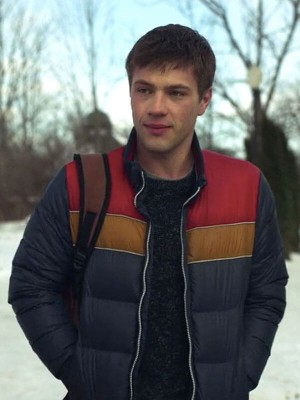 Tv Series Locke & Key Connor Jessup Puffer Jacket