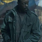 Vernon Elliot Altered Carbon Green Cotton Jacket