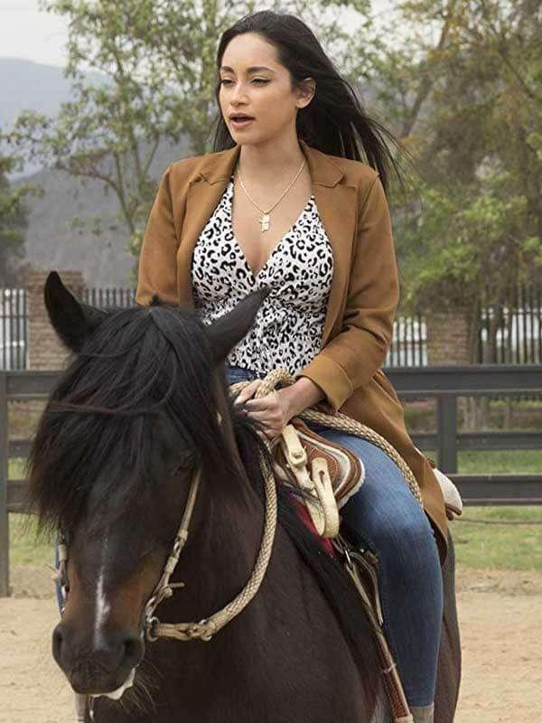 Victoria Fuller Tv Series The Bachelor Wool Coat