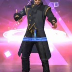 Video Game Free Fire Battlegrounds Alok Coat