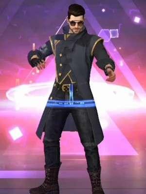 Drop The Beat Free Fire Alok Coat