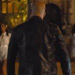 Vin Diesel F9 Black Leather Jacket
