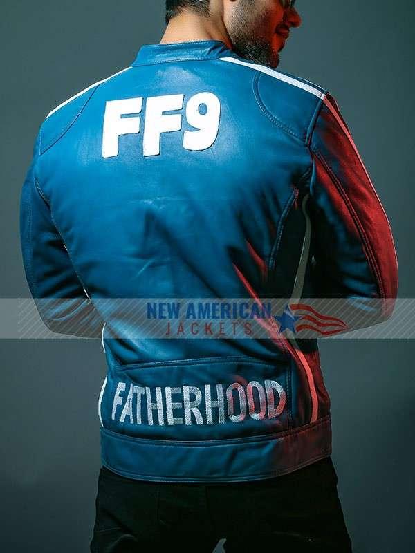 Vin Diesel f9 Blue Jacket