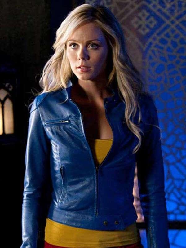 Wanted Leather Jacket worn by Kara Danvers in Supergirl