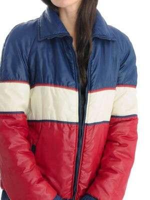 Vintage 70s Unisex Tricolor Jacket