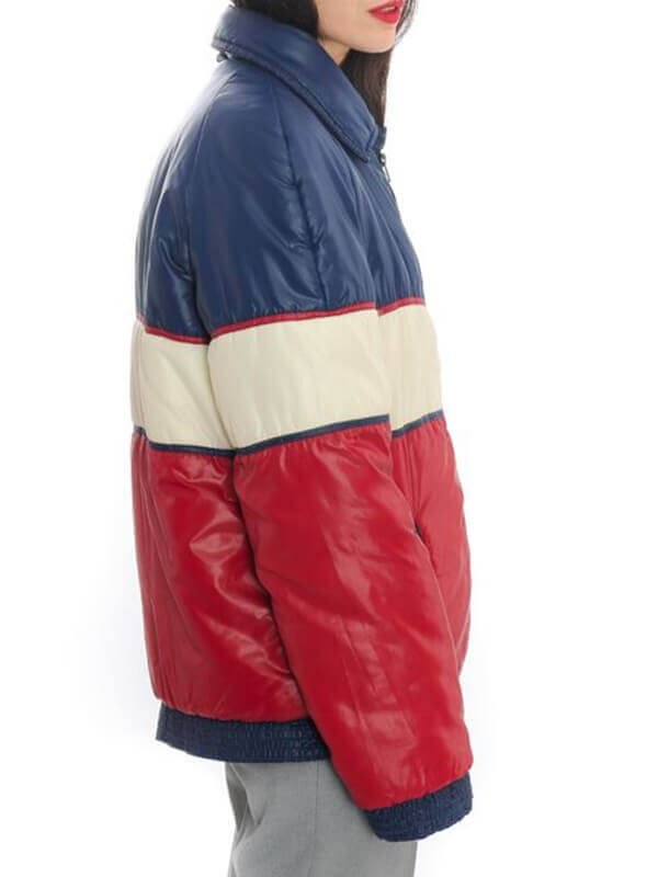 Womens Puffer Tricolor Unisex Jacket