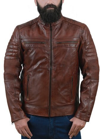 Men Café Racer Jacket