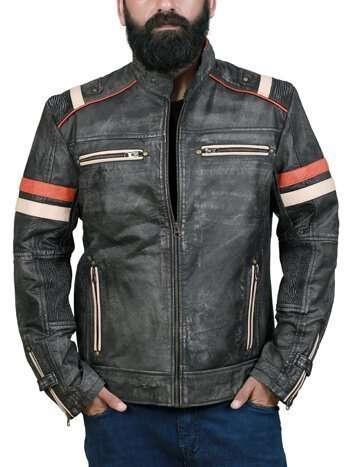 Men Café Racer Jacket
