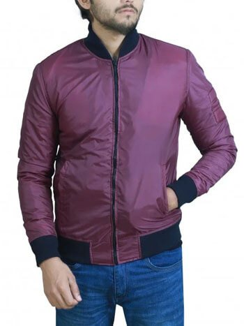 BARRY ALLEN THE FLASH RED COTTON JACKET
