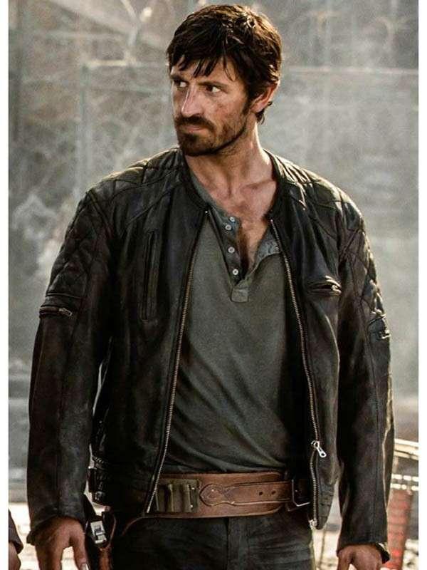 Action Film Resident Evil Eoin Macken Leather Jacket