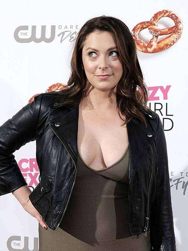 Actress Rachel Bloom Black Jacket