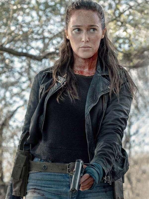 Alicia Clark The Walking Dead Jacket