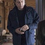 Andrew Finney Tv Series Ray Donovan Blue Cotton Jacket