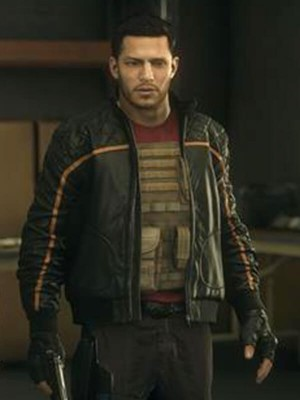 Nicholas Gonzalez Battlefield Hardline Jacket for Mens
