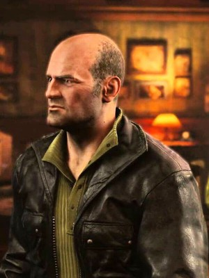 Charlie Cutter Uncharted 4 Game Jacket