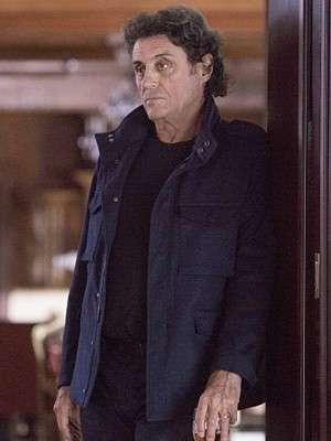 Andrew Finney Tv Series Ray Donovan Blue Cotton Jacket