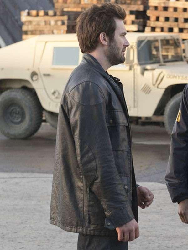 Bryan Mills Taken Leather Jacket