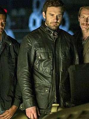 Clive Standen Taken Leather Jacket