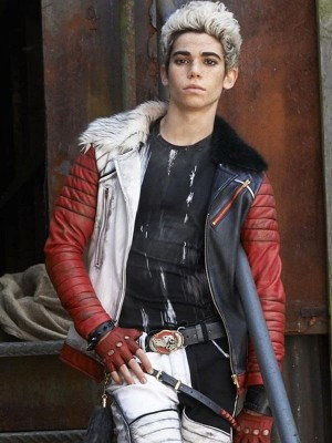 Cameron Boyce Descendants Shearling Jacket for Mens