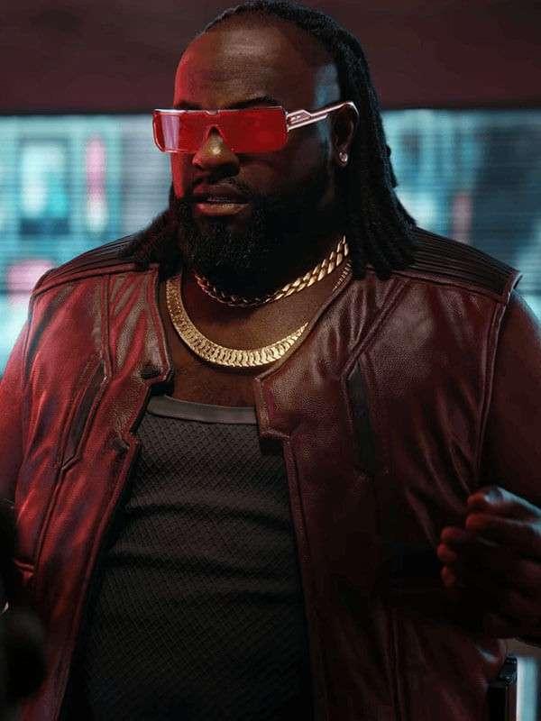 Dexter DeShawn Cyberpunk 2077 Leather Vest