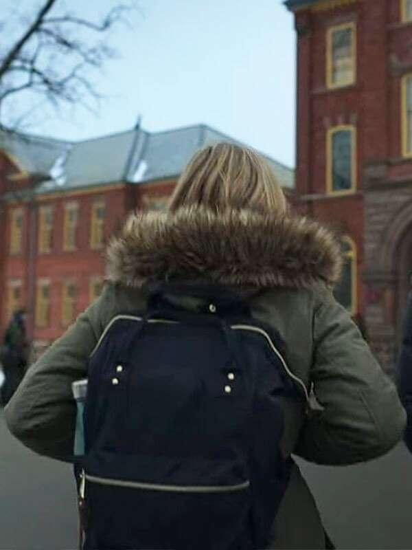 Emilia Jones Locke and Key Coat for Womens