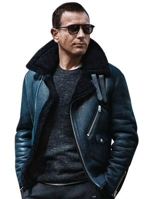 Ewan Mcgregor Fur Collar Jacket