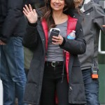 Fur Shearling Maggie Sawyer Trench Coat in TV Series Supergirl