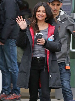 Supergirl Floriana Lima Coat