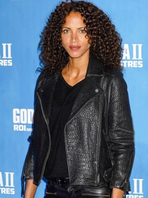 Noémie Lenoir Godzilla King of the Monsters Leather Jacket
