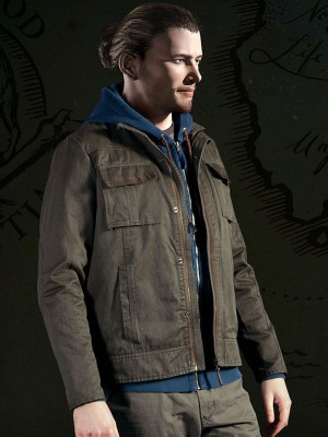 Uncharted 4 Game Nathan Drake Cotton Jacket