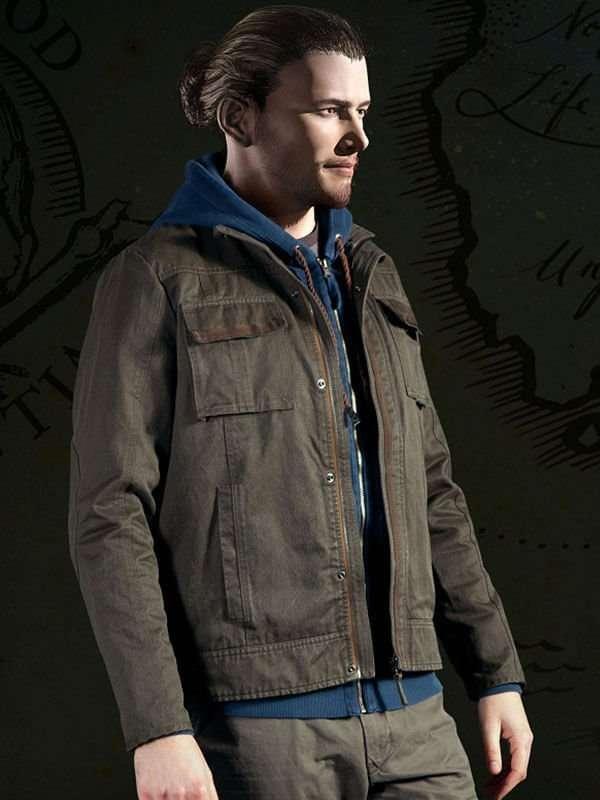 Uncharted 4 Nathan Drake Jacket New American Jackets