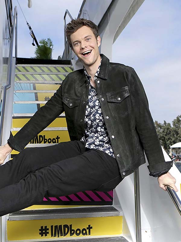 Jack Quaid The Boys Black Jacket