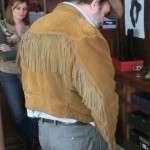 Jean Dujardin Le daim Jacket for Mens
