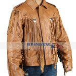 Joe Exotic Brown Fringe Jacket
