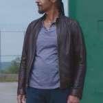 John Turturro Brown Leather Jacket Form The Jesus Rolls Movie