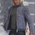 J'onzz Tv Series Supergirl Suede Leather Jacket