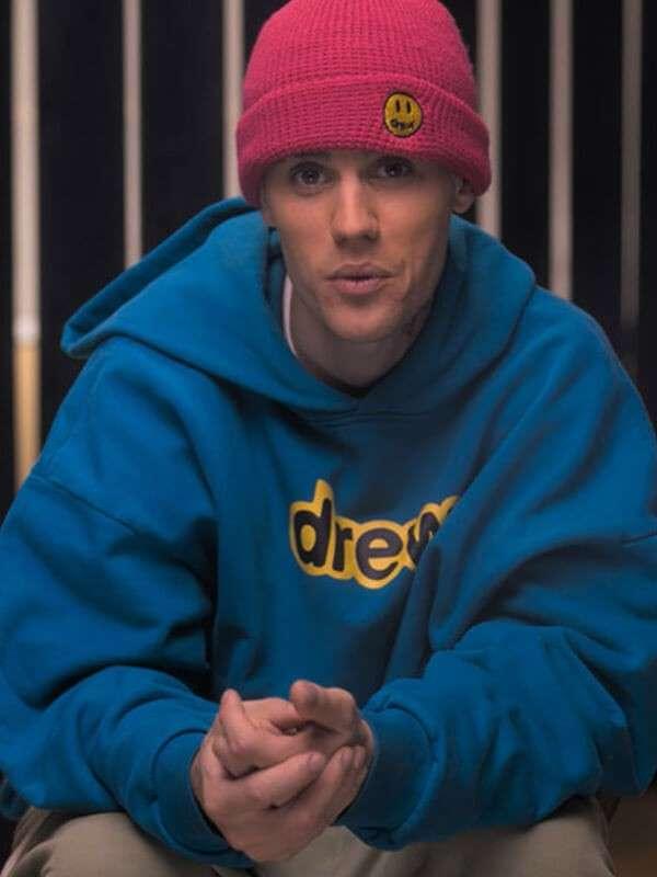 Justin Bieber Blue Hoodie