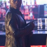 Leather Brown Jacket Malcolm Goodwin Worn in Tv Series iZombie