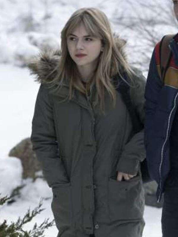 Locke and Key Emilia Jones Coat