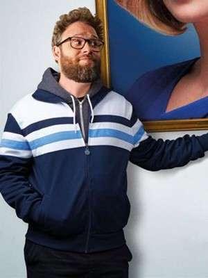 Long Shot Seth Rogen Stylish Jacket