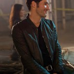 Lucifer Tom Ellis Black Jacket