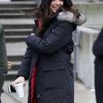 Maggie Sawyer Tv Series Supergirl Cotton Coat