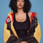 Mahalia Video Hide Out A Colors Show Leather Red and Yellow Jacket