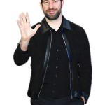 New York John Krasinski Black Leather Jacket