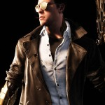 Paragon Shooter Black Trench Leather Coat