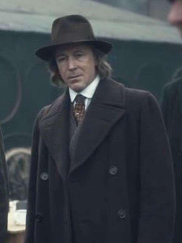 Peaky Blinders Tv Series Aidan Gillen Wool Coat