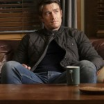 Quilted Cotton Jacket Worn by Robert Buckley in Tv Series iZombie