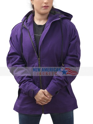 The Killing Mireille Enos Hooded Jacket