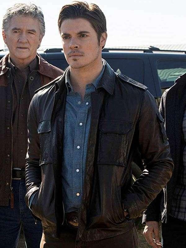 TV Drama Dallas Jesse Metcalfe Jacket